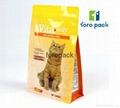 Stand up side gusset dog food bag 50kg