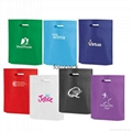 Customized elegant design Europian style non woven tote bag fashion women shoppi