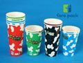 disposable white paper Cup single PE for hot beveage supplier manufacturers