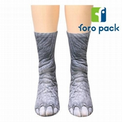 3d digital printing ship socks foreign trade unicorn animal socks
