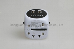 3200MA New design, universal travel adapter A005