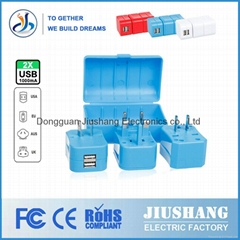 China facyory universal Travel Charger /socket/ plug / adapter