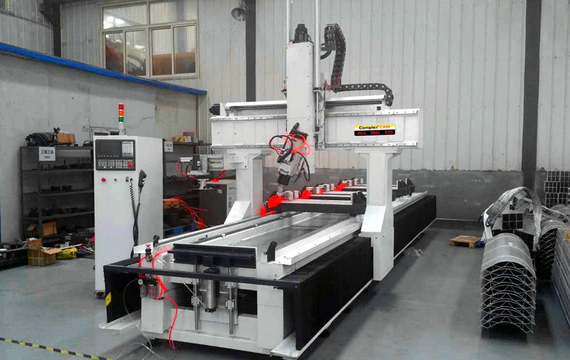 鋁型材數控機床 1