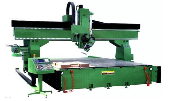 層壓木雕刻機 1