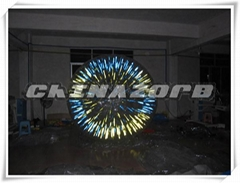 New Arrival Durable PVC&TPU Glow Zorb Lighting Zorbing Ball Cheap Price
