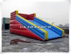High Quality Inflatable Zorb Ramp Inflatable Slide For Zorb Ball