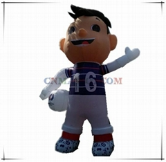 New arrival best sale Super Victor inflatable replica for Euro2016