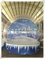 Real Snow Real Fun Inflatable Snowglobe Good Price 1