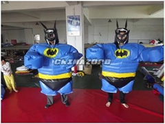 Great Design Batman Sumo Suits Wrestling Sports Games