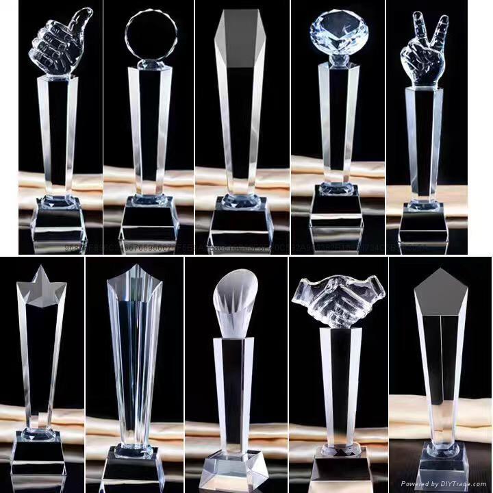 金属树脂水晶奖杯工艺品 2