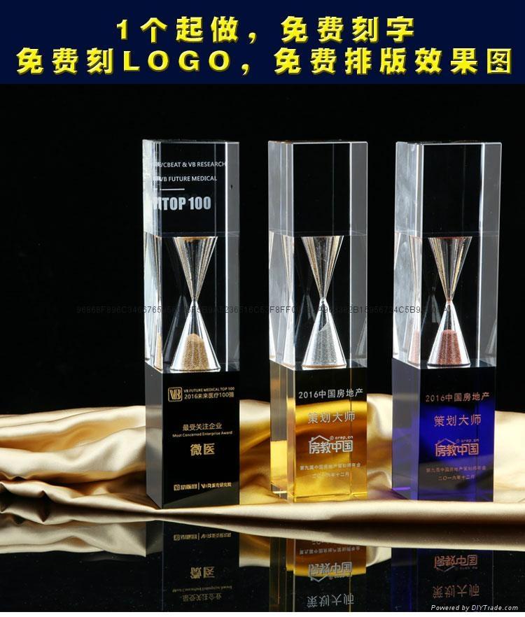 金属树脂水晶奖杯工艺品 3