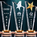 金属树脂水晶奖杯工艺品 4