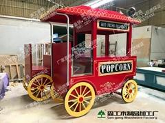 廣州實木移動販賣售貨車