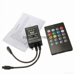 RGB七彩音樂控制器