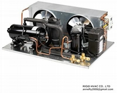 HVAC R404A gas Refrigeration equipment Condensing Units for freezer and cooling