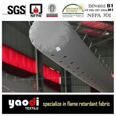 Ready made fabric air duct