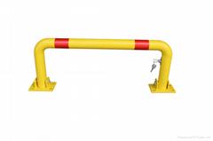 U Shape Car parking barriers Removable bollards