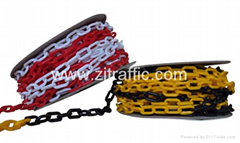 8mm barrier Traffic cones warning post link chain
