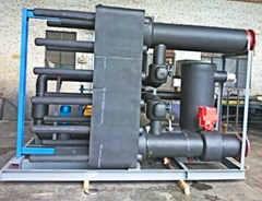 廣州力和集中區域供暖制冷板式換熱器