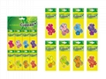 Brazil flowers Plants pattern wholesale customizable car air freshener 2