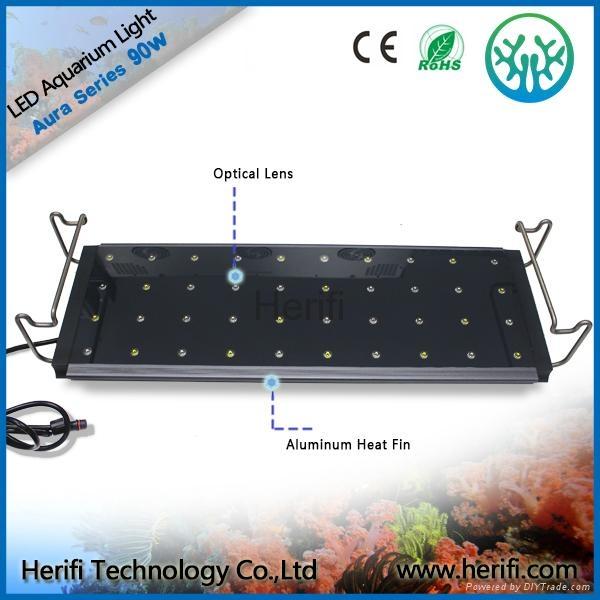 3w chip Tensile aluminum waterproof led aquarium light. 1