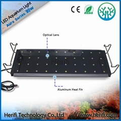 3w chip Tensile aluminum waterproof led aquarium light.
