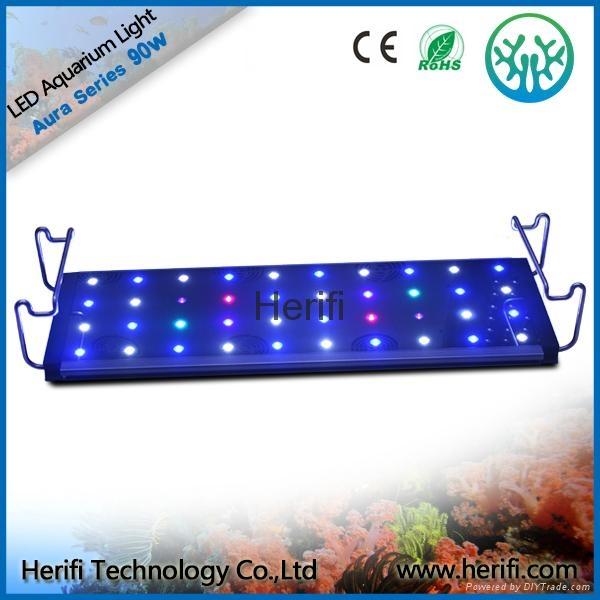 3w chip Tensile aluminum waterproof led aquarium light. 3