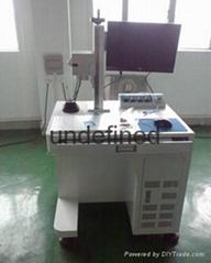 电子产品激光打标机 电器设备标签镭雕机厂家