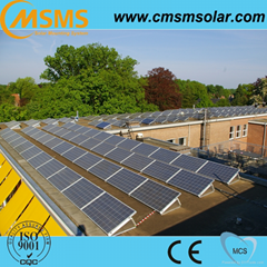 High performance solar pv off grid flat