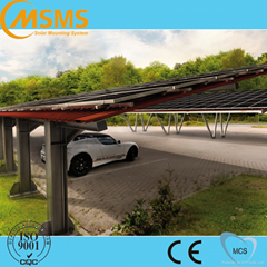 Ground solar panel mounting system pv solar carport mounting