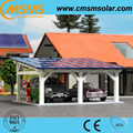 Ground solar panel mounting system pv solar carport mounting 3