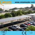 Aluminum solar parking carport mounting