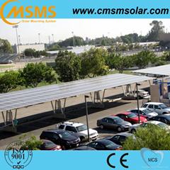 Aluminum solar parking carport mounting system