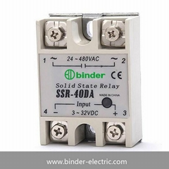 Single phase DC to AC solid state relay ssr-40da