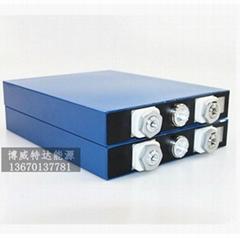 热销优质单体磷酸铁锂动力电池3.2V80AH 电动汽车 高尔夫球车电池