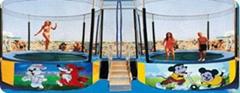 Trampoline & bungee