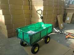 Steel DIY garden carts