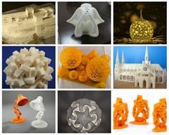 SLA SLS Custom china 3d printer factory 3d printing service