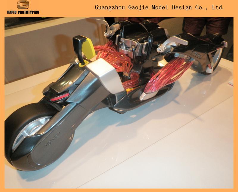 熱銷汽車摩托模型 塑料及金屬3D快速成型製造商  5