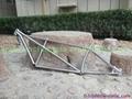 titanium bike frame tandem custom made