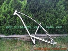 titanium fat  bike frame