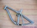 titanium bike frame bmx made in china