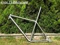 Titanium E-bike frame Mountain bicycle