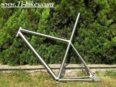 Titanium E-bike frame Mountain bicycle frame / mtb bike frame with gear box