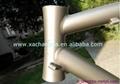 Customized titanium touring bike frame ti road bicycle frame made in china 3