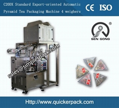 Pyramid India Darjeeling Tea Bag Packing Machine
