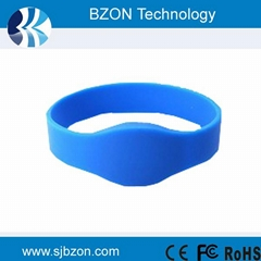 125khz 13.56MHz and UHF Rfid Silicone Wristband Tags
