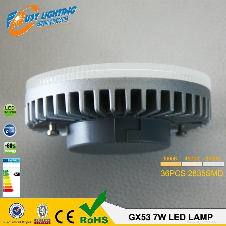 gx53 led lamp dimmable 7w8w gx53 cabinet light dimmbar gx53 led warmweiss jt gx53 tf7w. Black Bedroom Furniture Sets. Home Design Ideas