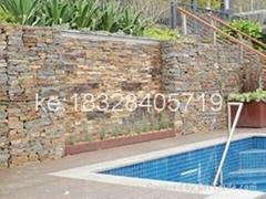 2016 China ga  anized hexagonal mesh residential gabion basket