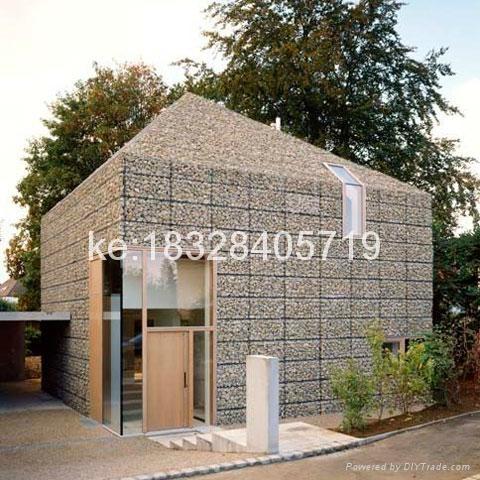 2016 China ga  anized hexagonal mesh residential gabion basket 3